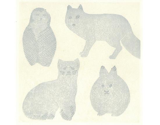 雪色の動物