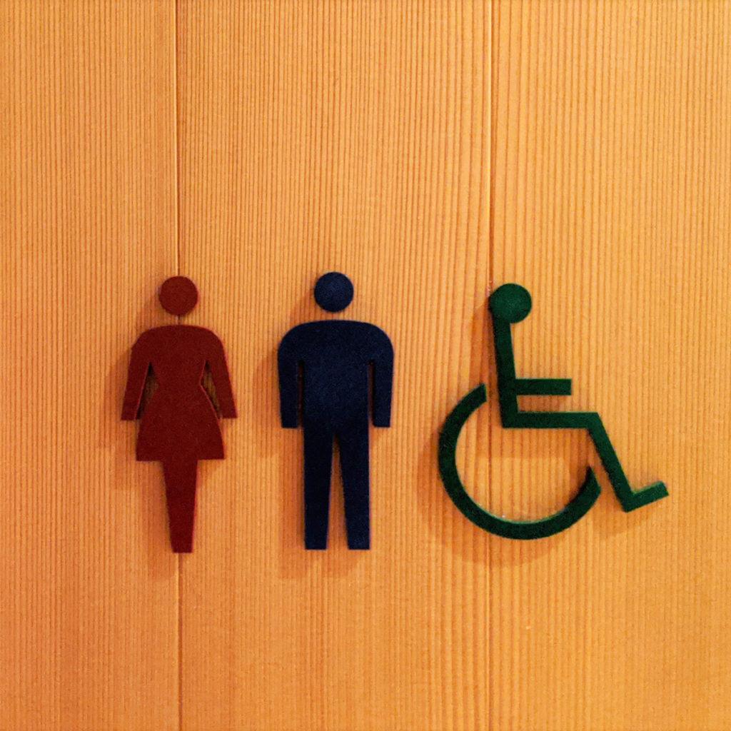 トイレのピクトグラム