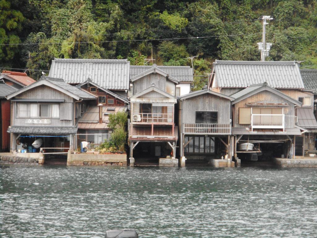 京都の舟屋集落