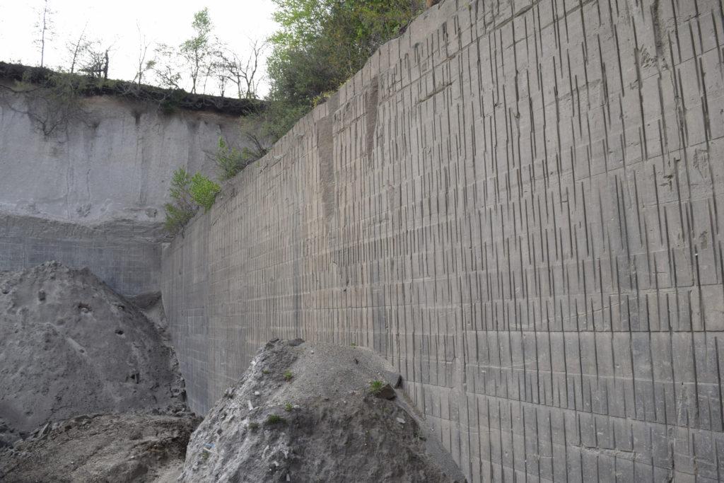 札幌軟石の採掘場
