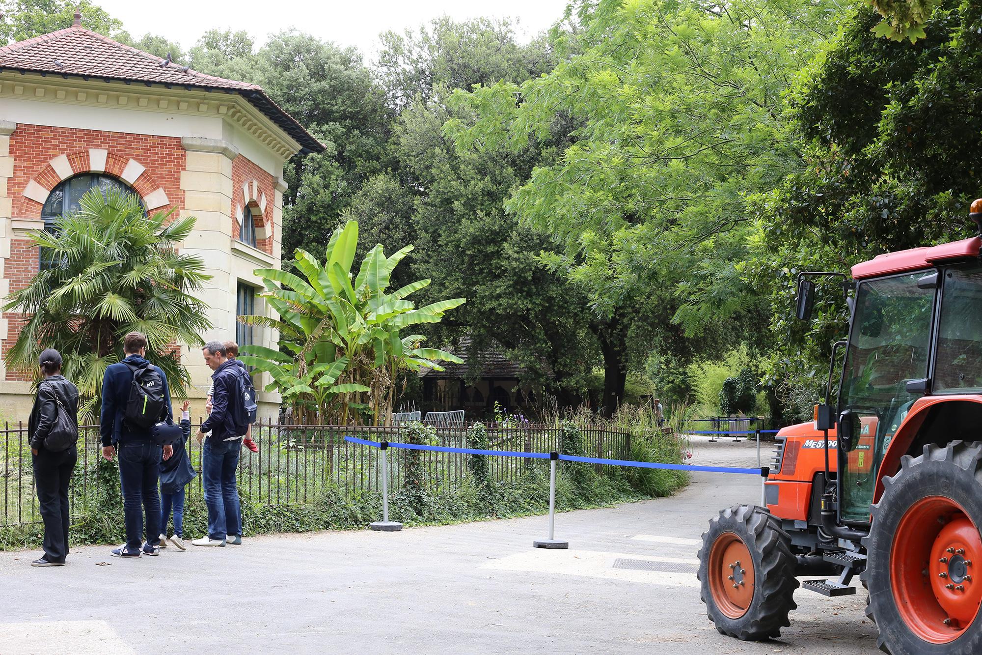 パリ植物園付属動物園