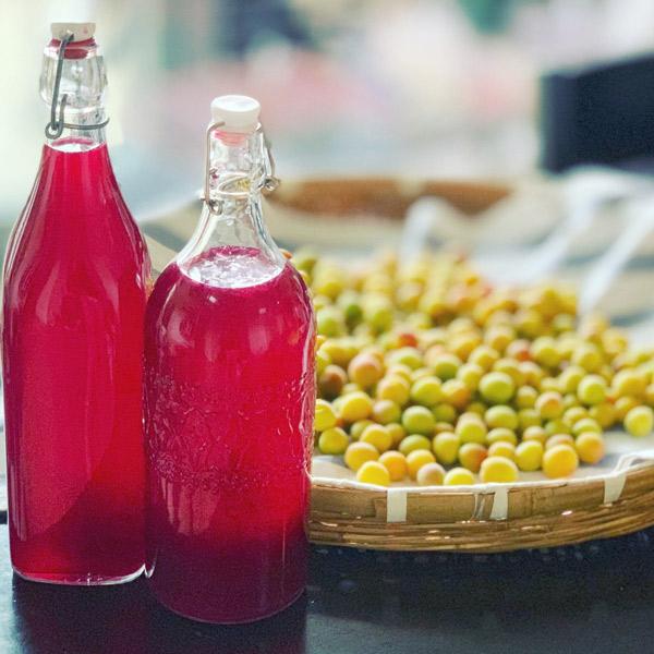 梅と紫蘇ジュース