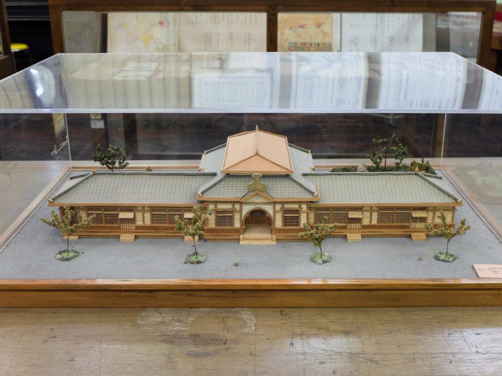 倉敷幼稚園舎模型
