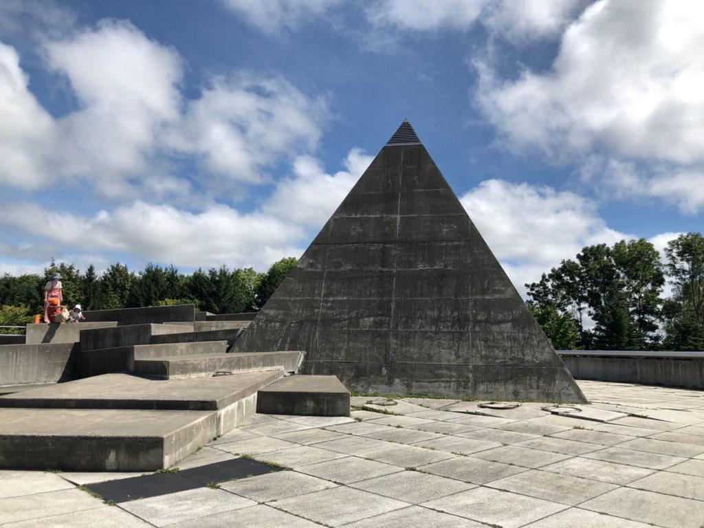 モエレ沼公園にあるピラミッド