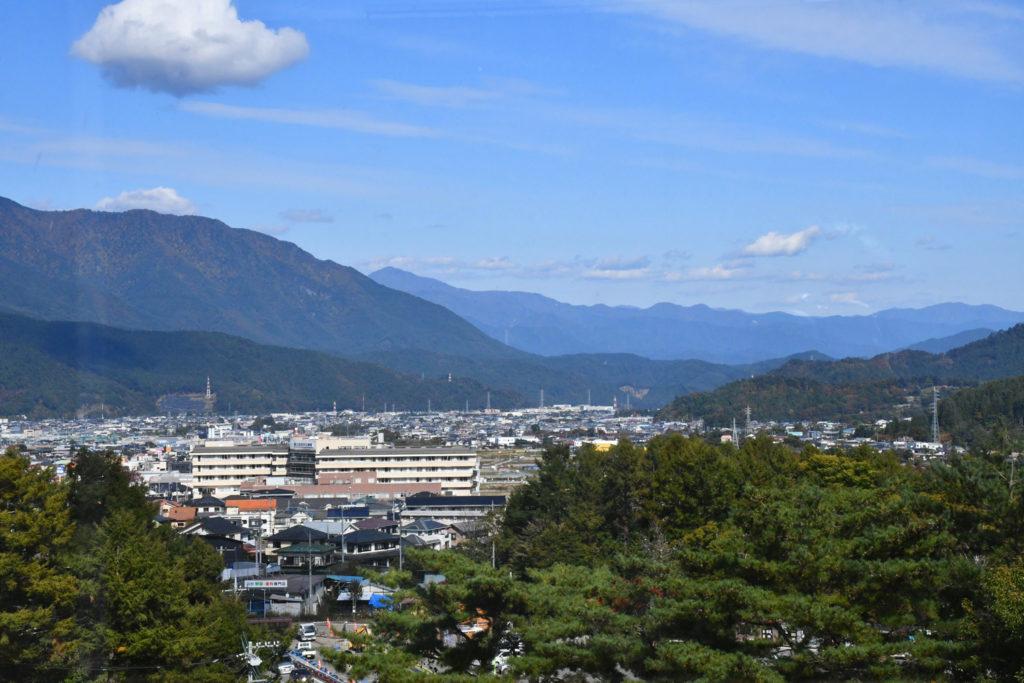 富士吉田市の景色