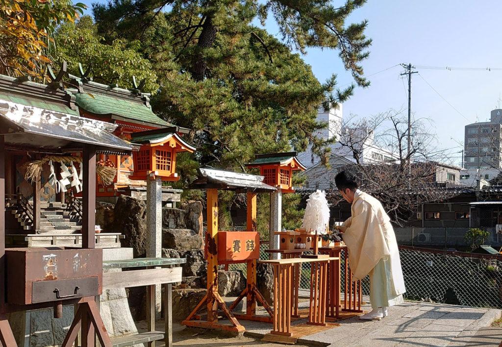 真清田神社の厳島社