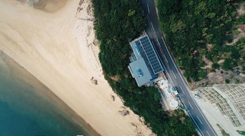 urashimavillage上空から