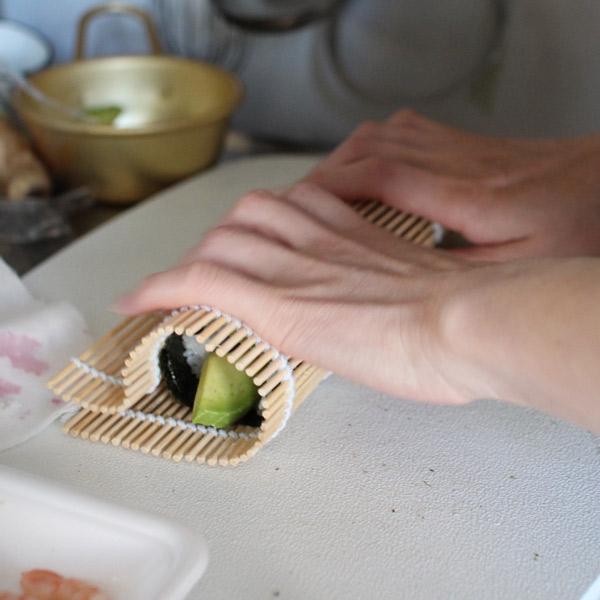 巻き寿司作り