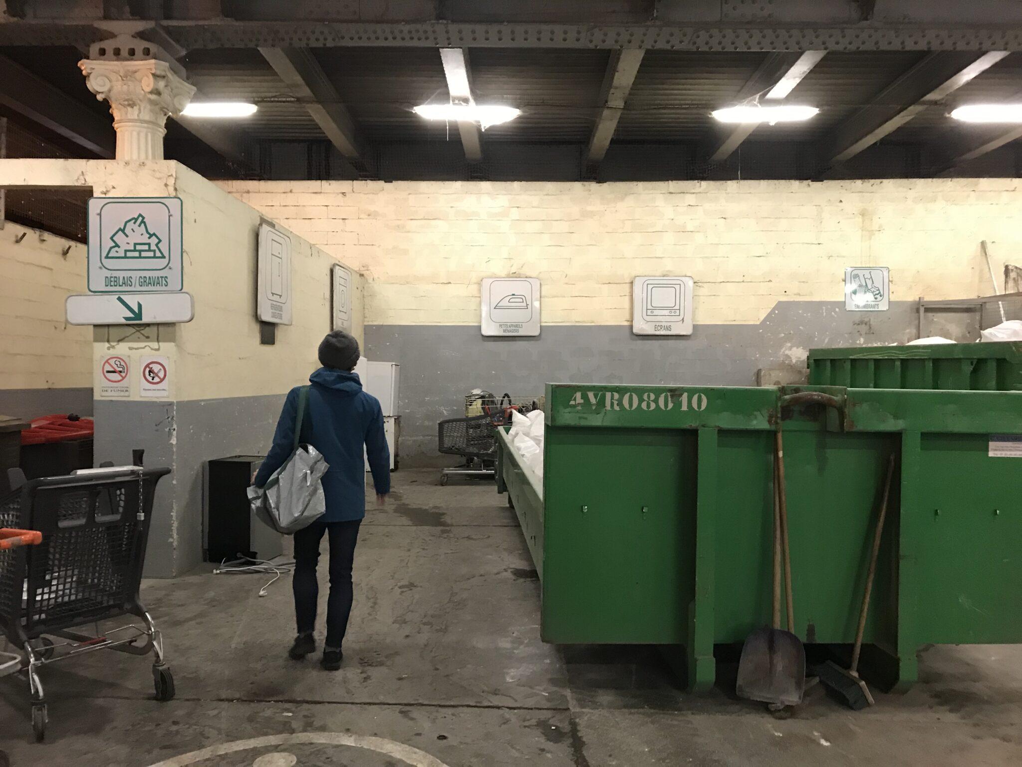 リサイクル持ち込みスペース