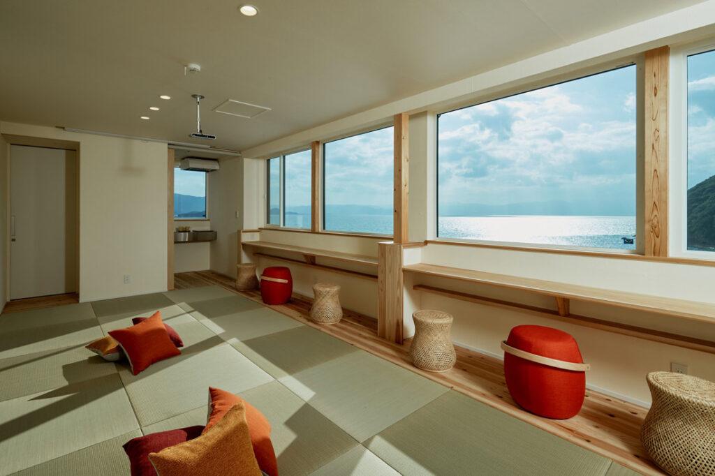 urashimavillage宿泊棟 時の畳リビング