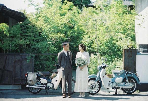 レトロな結婚式