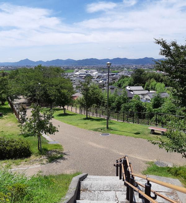 早島公園からの眺望