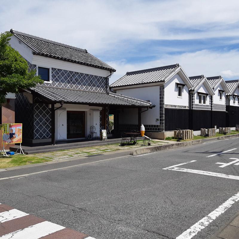 蔵を再生して作られた早島町観光センター